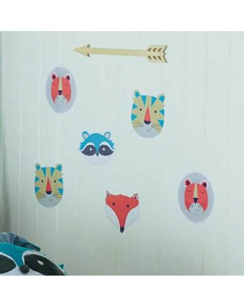 Funny Faces Wall Stickers
