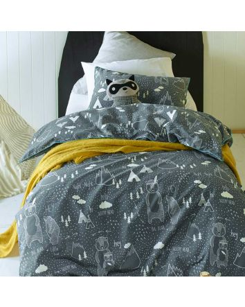 In The Woods Quilt Cover Set