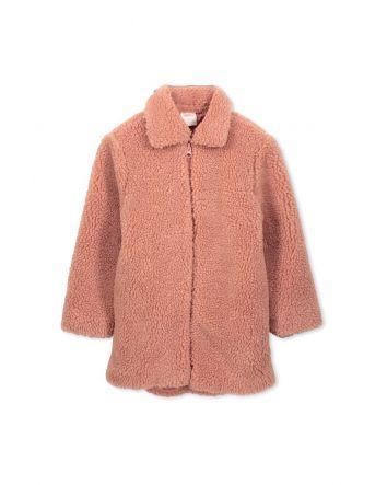 Milky Sherpa Jacket Rose