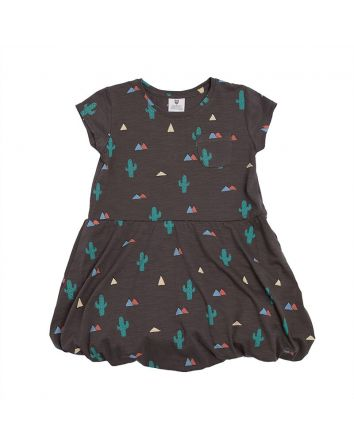 Up and Away Dress- Charcoal