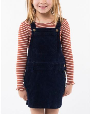 Eve's Sister Scarlett Pinafore Navy