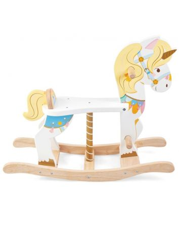 Le Toy Van Petilou Rocking Unicorn Carousel