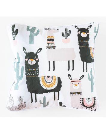 Cactus Llama Cushion