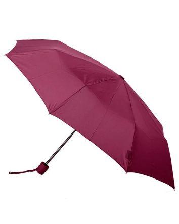 Burgundy Mini Folding Umbrella