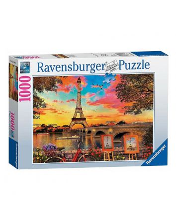 Ravensburger Banks of the Seine Puzzle 1000 Pc