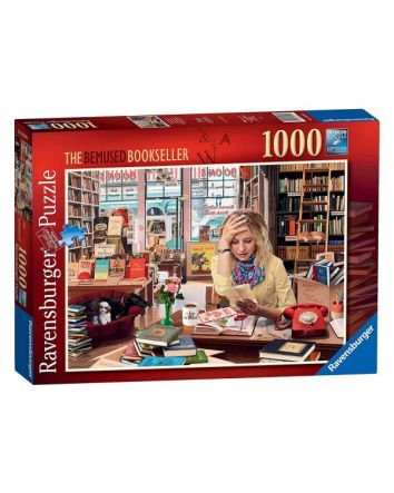 Ravensburger Bemused Bookseller Puzzle 1000 Pc