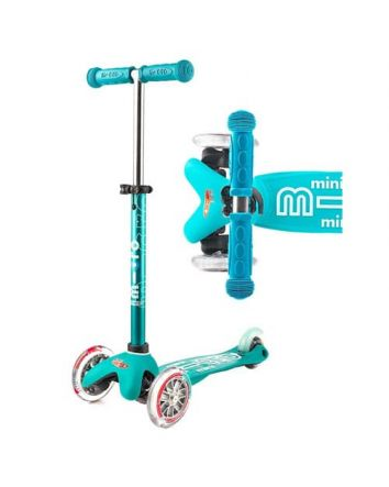 Mini Micro Deluxe Scooter -Aqua