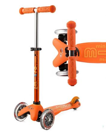 Mini Micro Deluxe Scooter -Orange