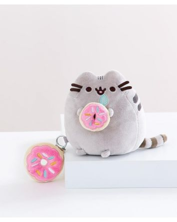 Pusheen Donut Gift Set With Keyring