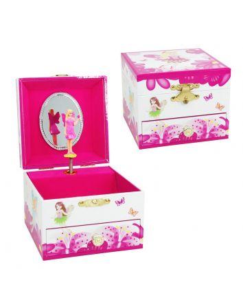 Flower Fairy Small Music Box