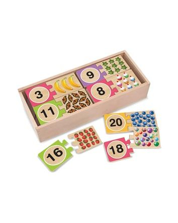 Melissa & Doug Numbers Puzzle Cards