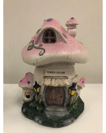 Pink Mushroom Night Light