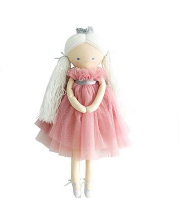 Alimrose Penelope  Princess Sparkle Blush Doll 48cm