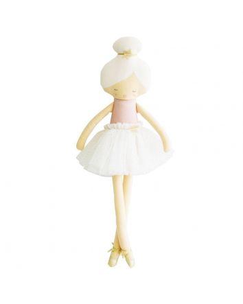 Alimrose Arabella Ballerina Pale Pink Doll 48cm
