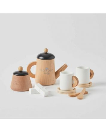 Nordic Kids WOODEN Tea Set
