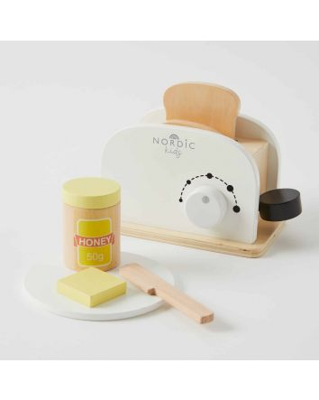 Nordic Kids WOODEN Toaster Set
