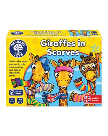 Orchard Game - Giraffes In Scarves