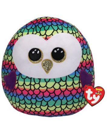 Owen the Owl Squish-A-Boo