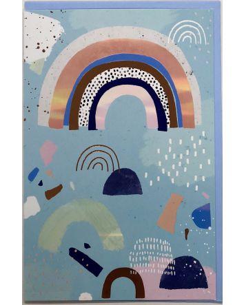 Pastel Rainbow Card