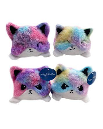 Reversible Plush Mood Cat