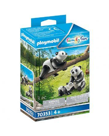 Playmobil Panda with Cub