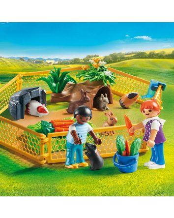Playmobil Farm Animal Enclosure