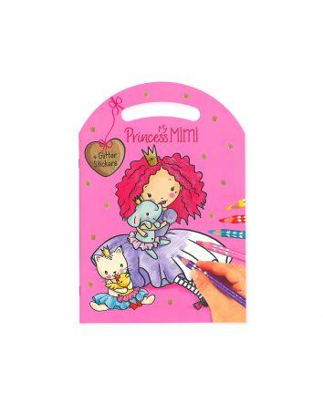 Princess Mimi - Glitter and Stickers