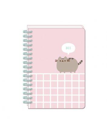 Pusheen A5 NoteBook w/ Sticker Sheet