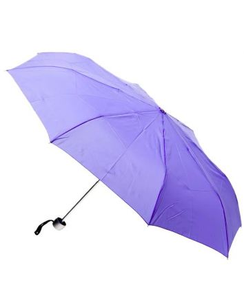 Purple Mini Folding Umbrella