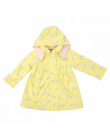 Korango Shooting Stars Raincoat Lemon