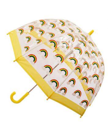 Kids PVC Birdcage Umbrella Rainbow