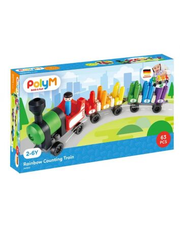 Poly M Rainbow Counting Train