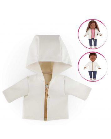 Ma Corolle Cream Raincoat