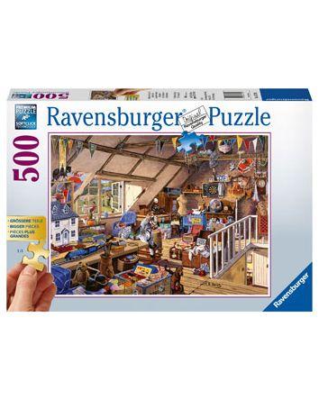 Ravensburger Grandma's Attic Puzzle 500 Pc