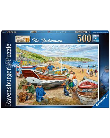 Ravensburger The Fisherman Puzzle 500 Pc