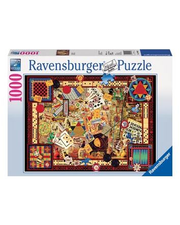 Ravensburger Vintage Games Puzzle 1000 Pc
