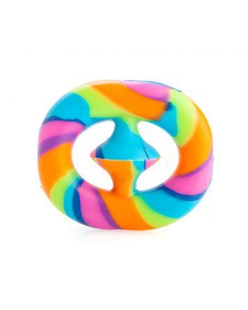 Snapper Pop Fidget Toy Rainbow