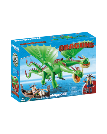 Ruffnut and Tuffnut with Barf and Belch- Playmobil Dragons