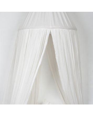 White- Muslin Cotton Canopy