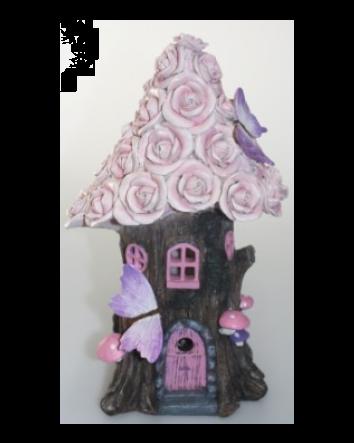 Fairy Solar Powered Rose House