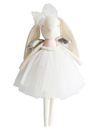 Alimrose Angle Bunny Pink Silver