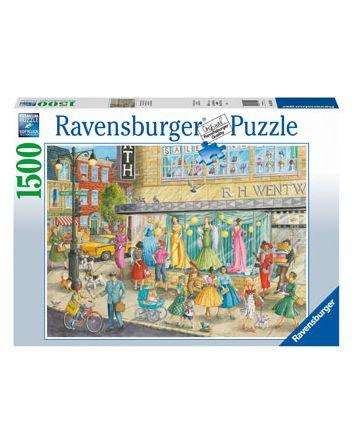 Ravensburger Sidewalk Fashion Puzzle 1500 Pc