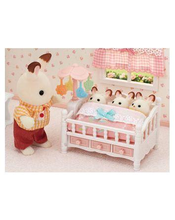 Sylvanian Families Crib With Mobile