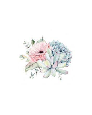 Succulant Bouquet Canvas 60x60