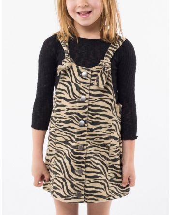 Eve's Sister Zebra Pinafore