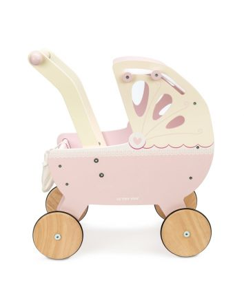 Le Toy Van Sweet Dreams Pram- Pink