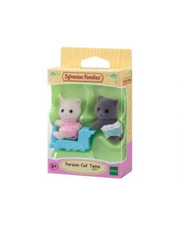 Sylvanian Families Persian Cat Twins NEW