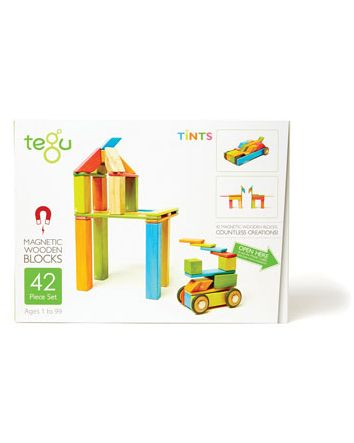 Tegu 42 Piece Set- Tints