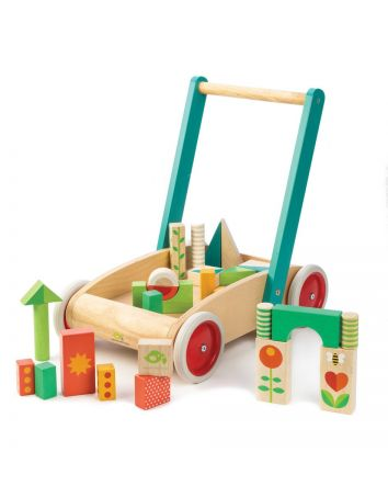 Tender Leaf Wagon With Blocks