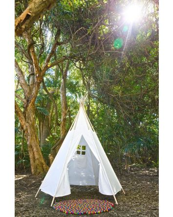 Wooden Pole Teepee- Large 7ft